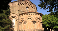The apse of the current (Romanesque) church of Sant Joan de les Abadesses