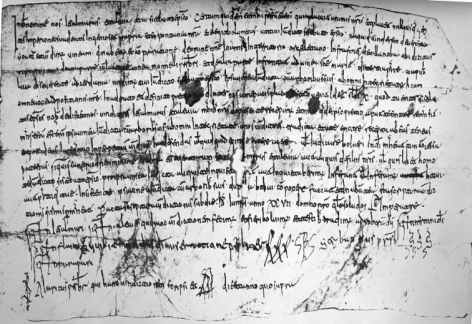 Urgell 12, charter of sale from 839 AD