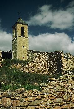 The church of Sant Andreu de Baltarga, built in the 980s