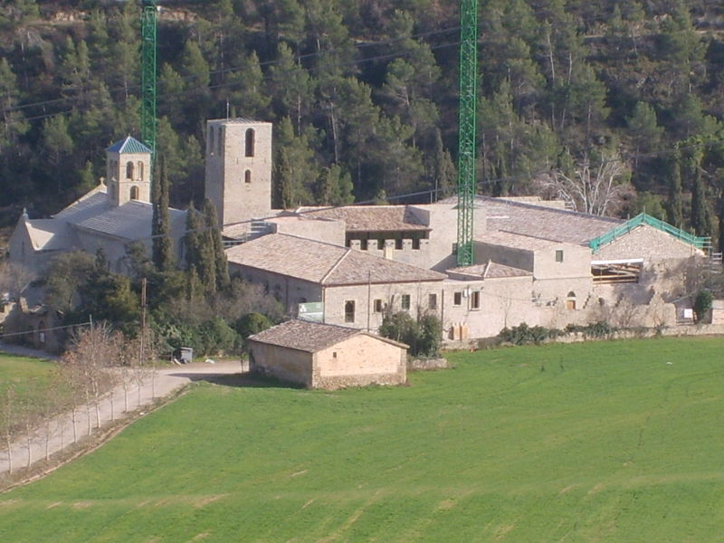 Monastery of Sant Benet de Bages, from Wikipedia Spain