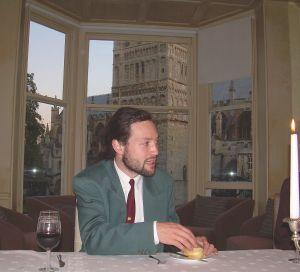 That same beardy bloke pontificating over dinner