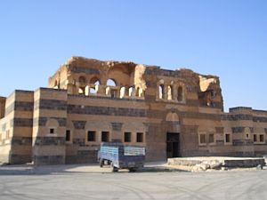Palace of Qasr ibn Wardan, c.560 CE