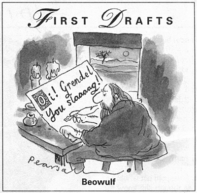 Simon Pearsall's First Drafts: Beowulf