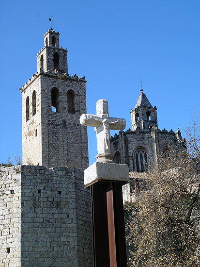 The monastery of Sant Cugat del Vallès