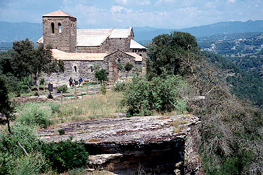 Monastery of Sant Pere de Casserres, Osona, as it stands today