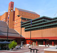 The British Library buildings at St Pancras