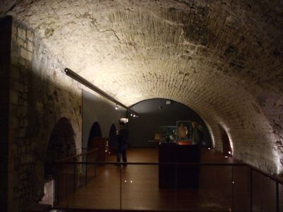 Medieval galleries of the Museu de la Història de la Ciutat, Barcelona