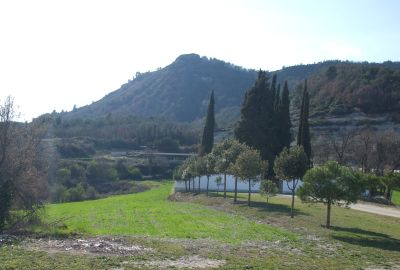 The Turó del Castell de Gurb as viewed from Sant Andreu