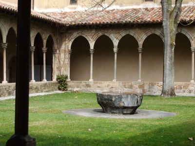 Cloister of the abbey of Sant Joan de les Abadesses