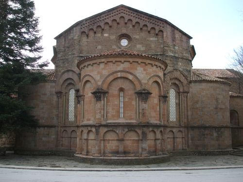 Apse and apsidioles of the west end of the abbey church of Sant Joan de les Abadesses