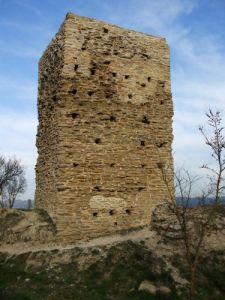 The Castell de Tona, Osona, Catalunya, photo by Jonathan Jarrett