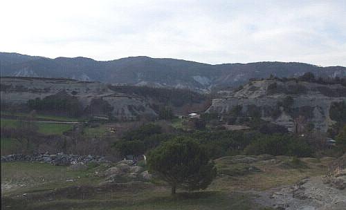 The turones around the Turó del Castell de Tona