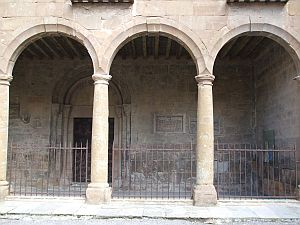 Outside of the cloister of Sant Joan de les Abadesses