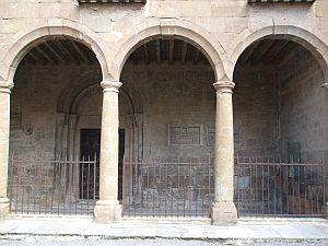Outside of the cloister of Sant Joan de les Abadesses