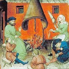 Tacuinum Sanitatis, XVe siècle Paris, BnF, Département des manuscrits, Latin 9333 fol. 97v