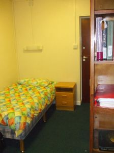 One end of this year\'s Bodington Hall room