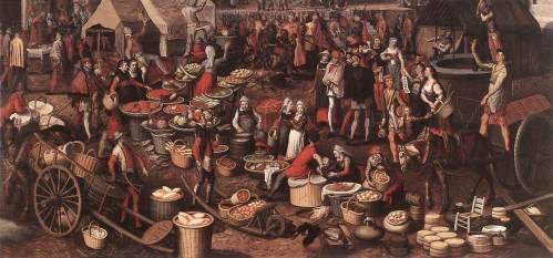 Market Scene (Ecce Homo) by Pieter Aertsen, <i>c.</i>1550