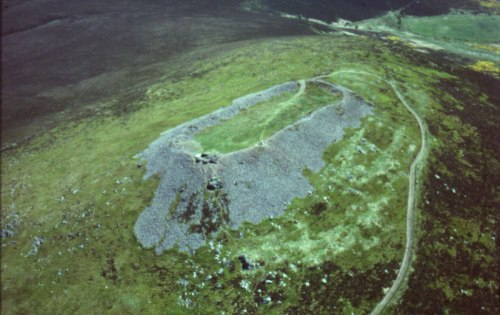 The vitrified fort of Tap o\'Noth, Aberdeenshire