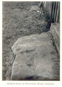 The Pictish symbol stone at Gairloch, Wester Ross