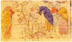 Peasants at work, from the Bíblia de Ripoll