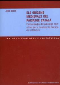 Cover of Jordi Bolòs's Els origens medievals del paisatge català