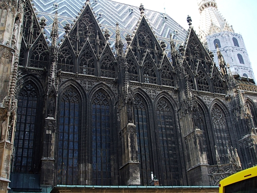 Roof of the nave of the Stephansdom, Vienna