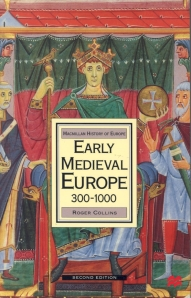 Cover of second edition of Roger Collins's Early Medieval Europe 300-1000