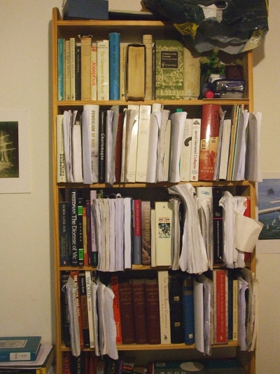 A Jarrett bookcase