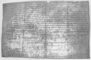 The record of the meeting of 949 over the succession to Sant Joan