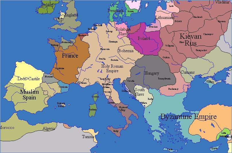 Maps Map Of Europe 700 Ad