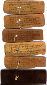 Hindi palm-leaf manuscript