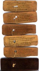 Hindi palm-leaf manuscript