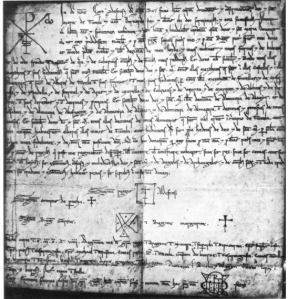 Donation by King Alfonso I 'the Battler' of Aragón to the cathedral of Tudela, 1123 (Tudela was conquered in 1119)