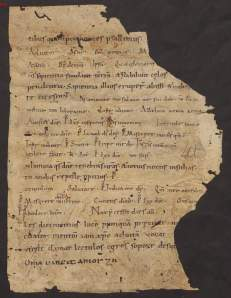 A fragment of a German breviary of the 10th or 11th century preserved at Freising