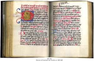 Swedish 15th-century illuminated Breviary, intact, from the Schoyen Collection, MS 1392