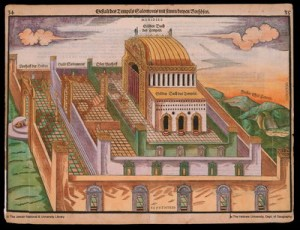Depiction of the Temple of Solomon in Jerusalem