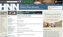 Screenshot of the History News Network magazine website