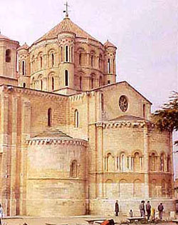 The later medieval cathedral of Zamora