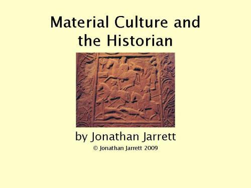 essay material culture