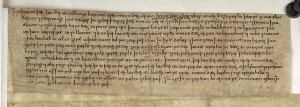 The will of the thegn Wulfgar, Sawyer 1533, British Library Cotton Charter viii.16 B