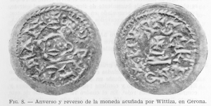 The coin found in the Cueva de Foradada