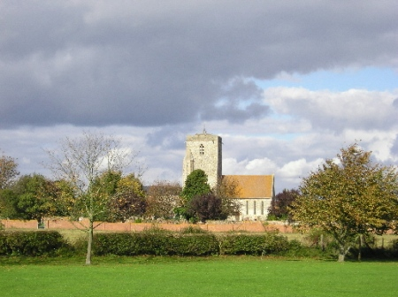 The parish church of St Mary, Cholsey, mostly twelfth-century as stands but with some Anglo-Saxon fabric