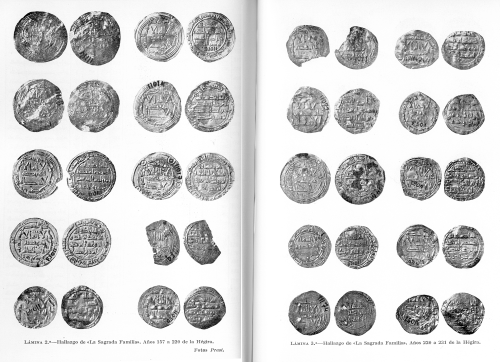 Plates 2 & 3 of Santos Gener's article on the Sagrada Familia hoard