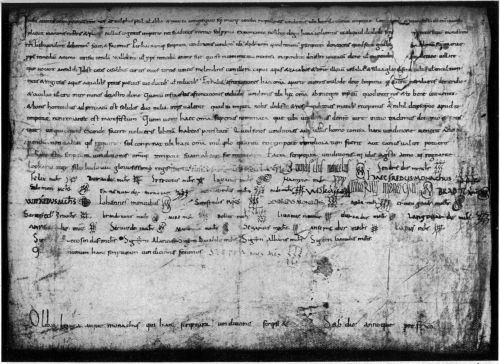 An exchange between Count Borrell II and the monks of Santa Maria de Ripoll, 957