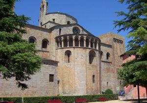 The Romanesque cathedral of Urgell, from Wikimedia Commons