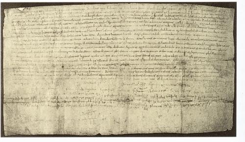 Barcelona, Biblioteca de Catalunya, Arxiu, pergamin núm. 9135 (2-VIII-2)