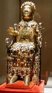 Reliquary statue of Sainte Foi de Conques