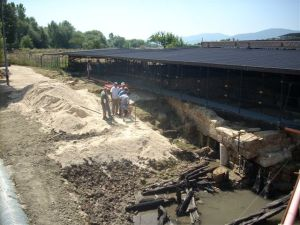 Ongoing excavations at San Vincenzo al Volturno