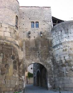 The Porte de Saint-Marcel, Die, Drome, France
