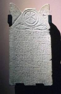 Third-century stele of Valeria Maria, from San Vitale di Ravenna